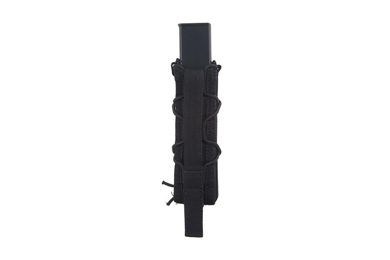 Single submachinegun magazine pouch  - black